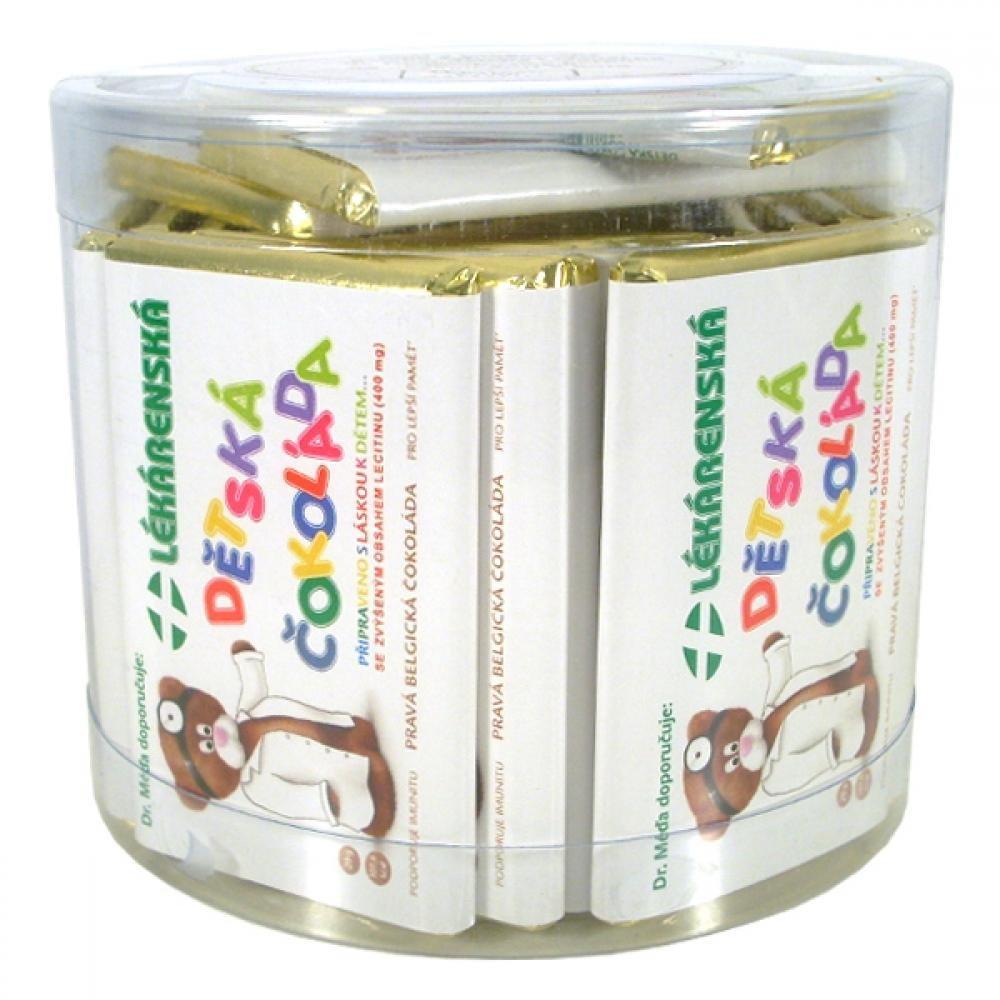 Chocopharm Lekárenská detská čokoláda 33x20g