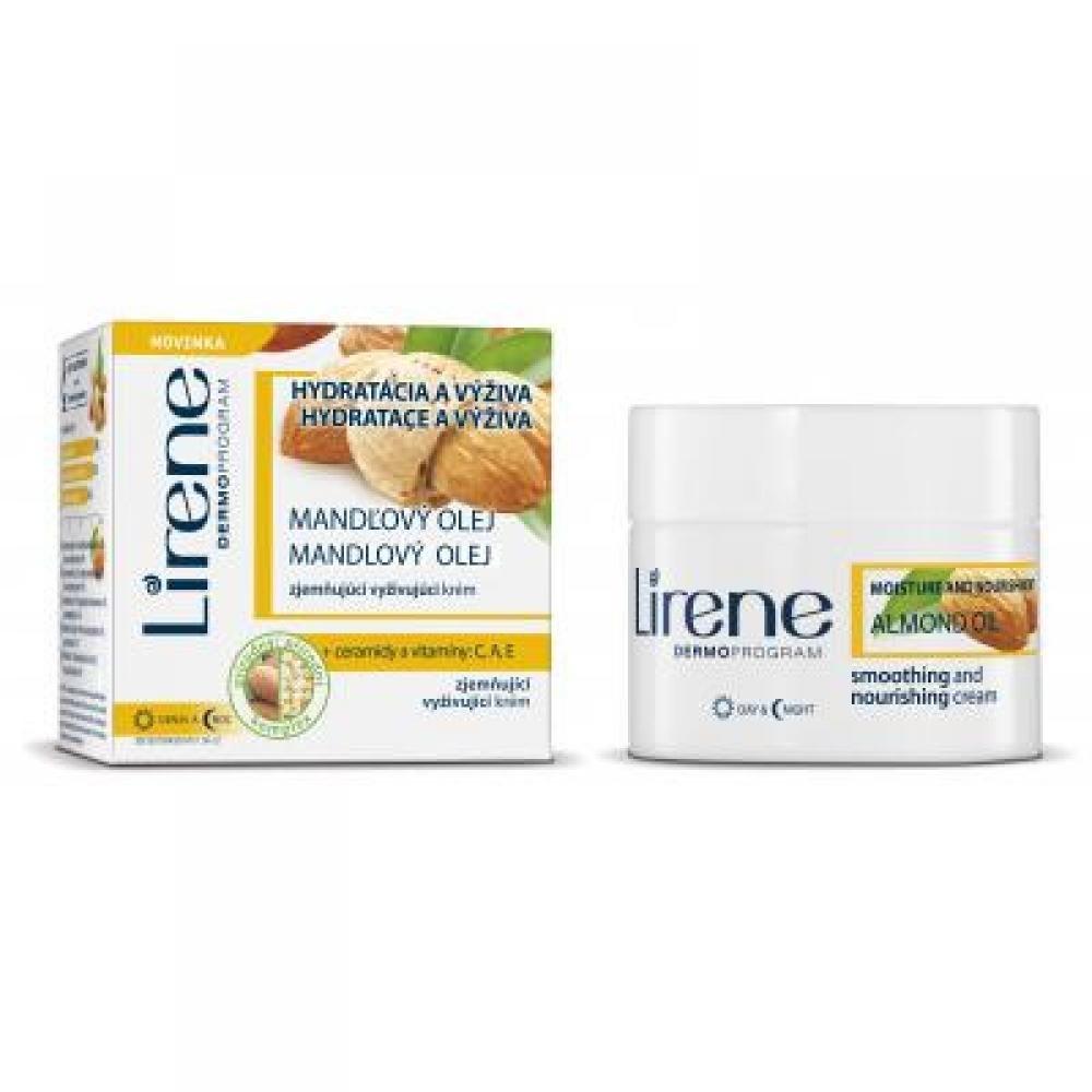 Lirene Hydratace a výživa Mandlový olej zjemňující vyživující denní i noční krém 50 ml
