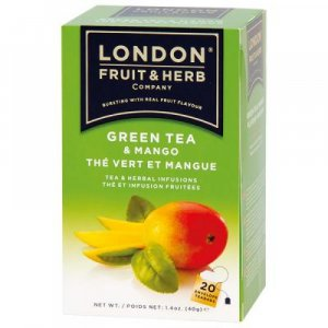 LONDON FRUIT & HERB Zelený čaj s mangom 20x2 g