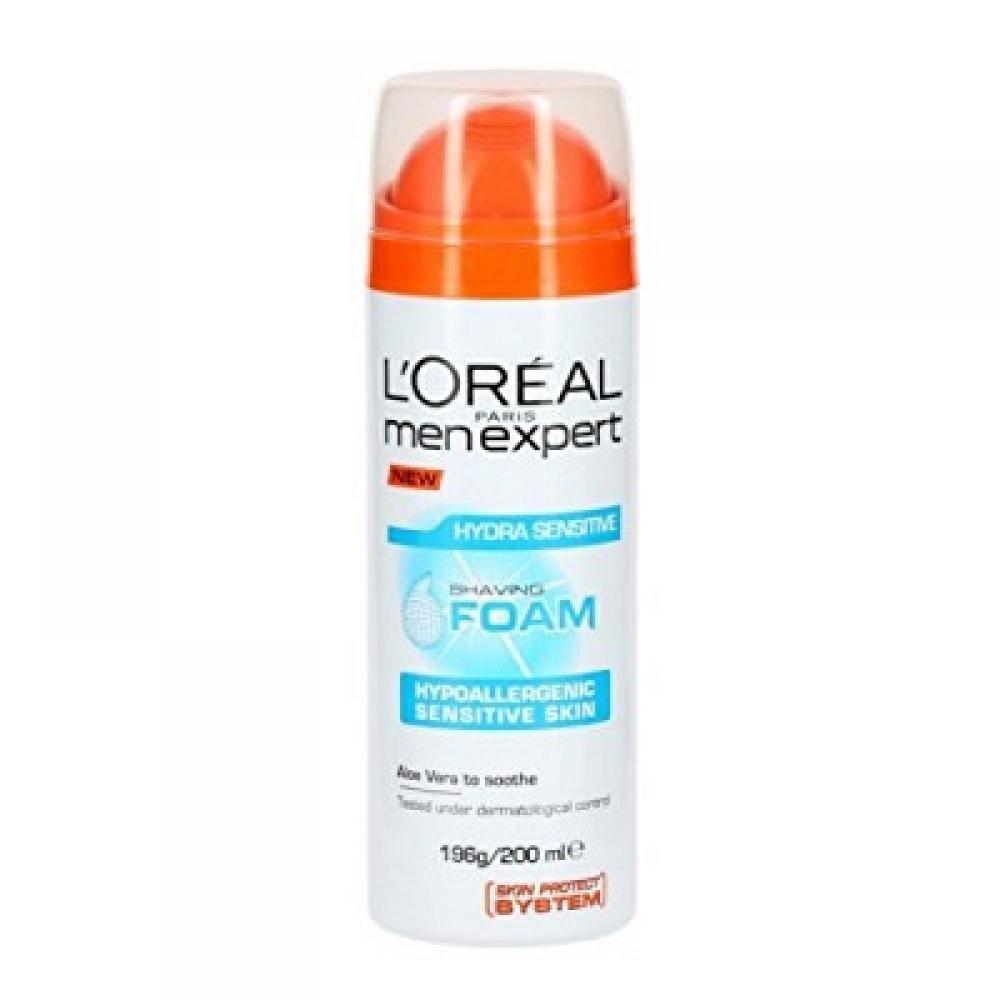 L'ORÉAL Men Expert Mineral hydratačná pena na holenie 200 ml