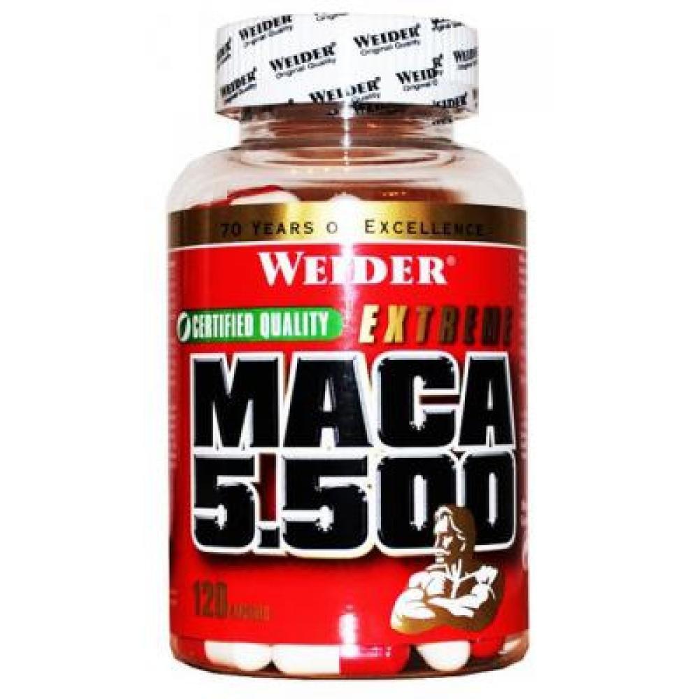 Maca 5.500, 120 kapslí, Weider