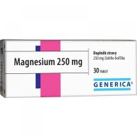 Generica Magnesium 250 mg 30 tabliet