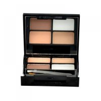 Makeup Revolution London Focus & Fix Eyebrow Shaping Kit 5,8g Set pre úpravu obočia Medium Dark