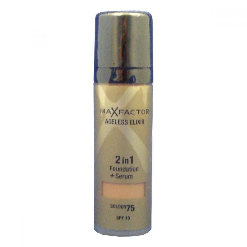 Max Factor Ageless Elixir 2v1 Foundation + Serum SPF15 30ml odtieň 75 Golden