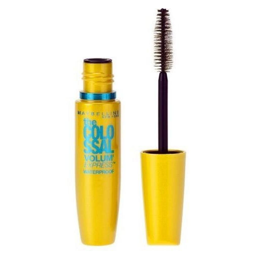 Maybelline Mascara Colossal Volum Waterproof Black 10ml (Odstín Black černá)