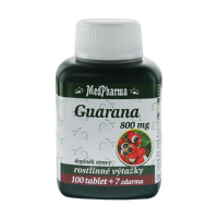 MEDPHARMA Guarana 800 mg 107 tabliet