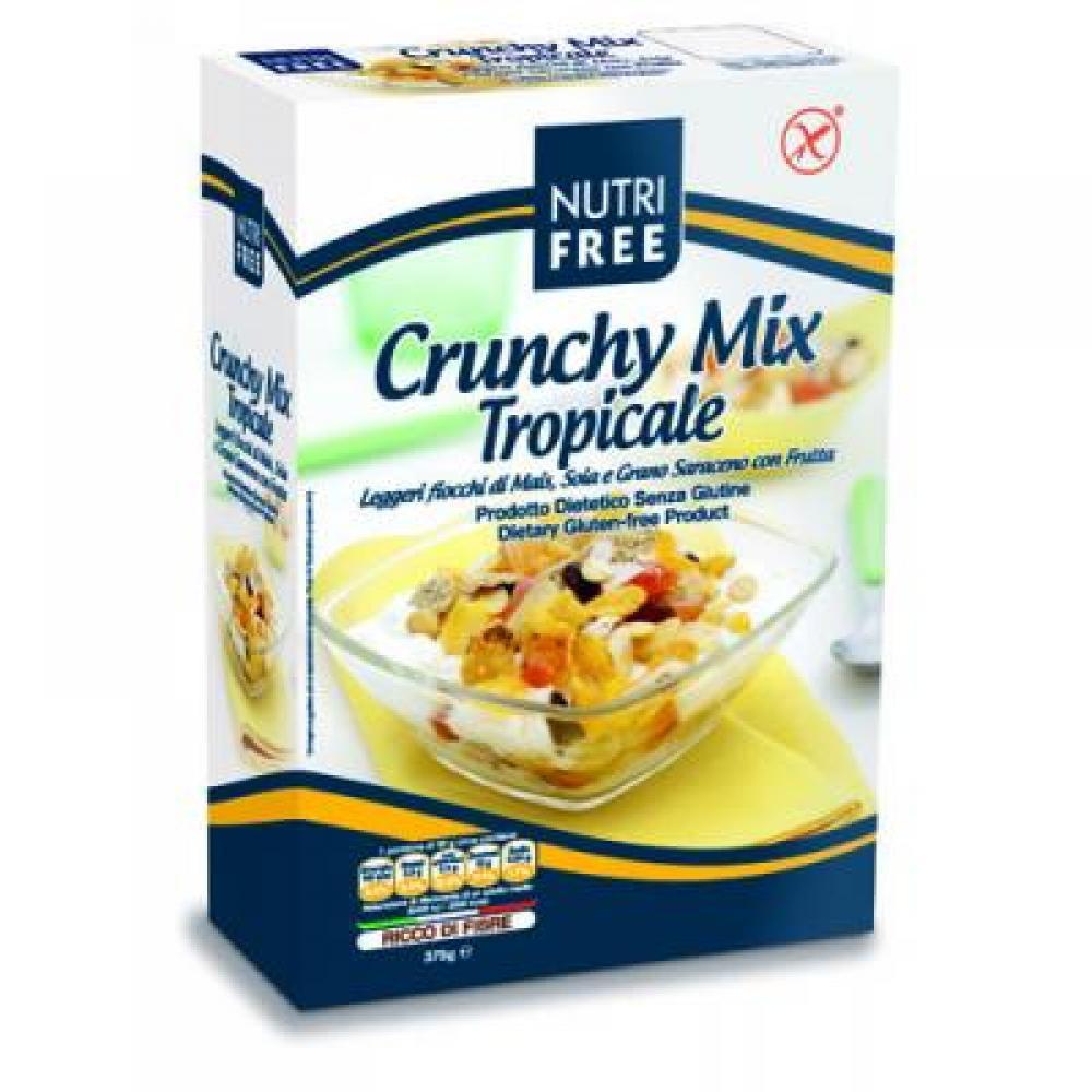 NUTRIFREE Mix cereálnych vločiek a ovocia bezlepkové 375g