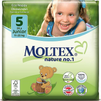 MOLTEX Nature No.1 Junior 11-25kg  26 ks