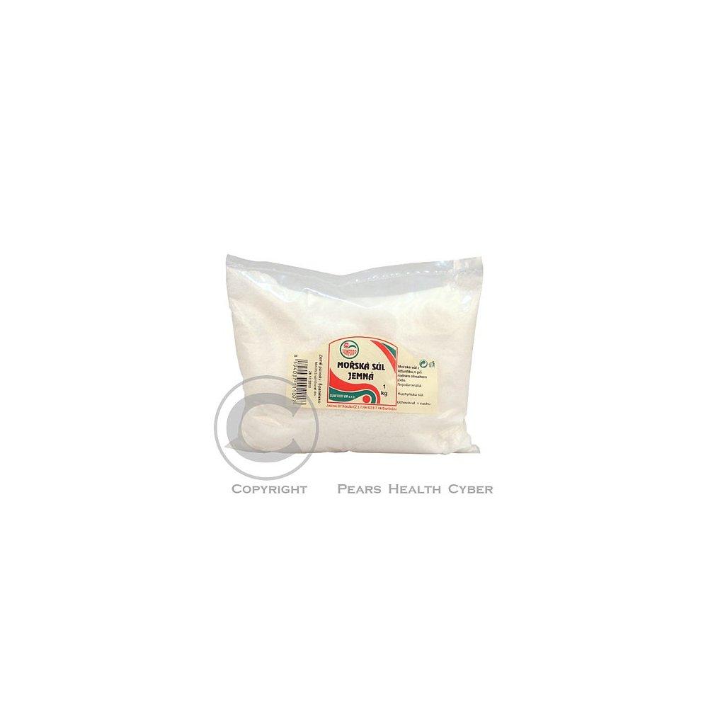 Morská soľ jemná 1 kg