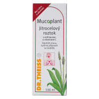 Naturprodukt Dr. Theis MUCOPLANT sirup skorocel s echinaceou a C 100 ml