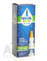 NASAL DUO ACTIVE 1,0/50 mg/ml aer nao 10 ml