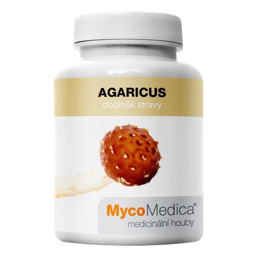 MycoMedica Agaricus 90 rastlinných vegan kapsúl