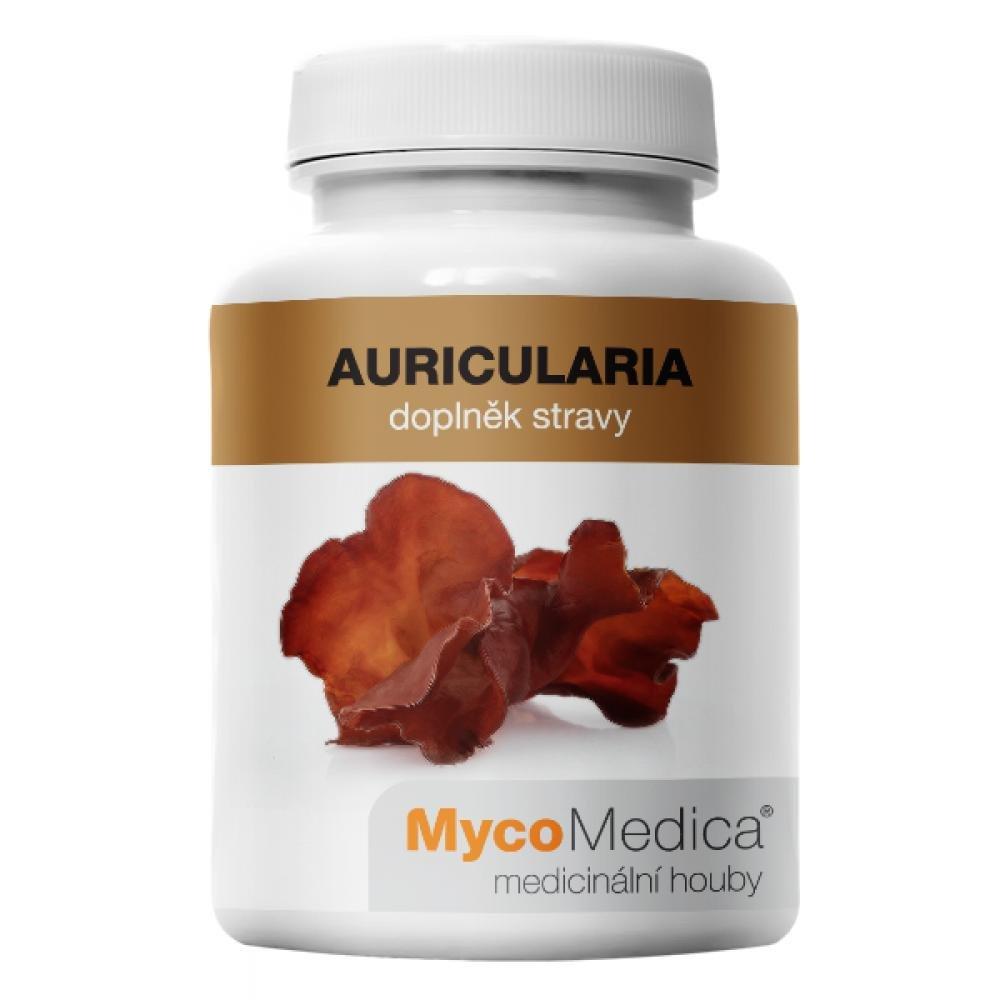 MycoMedica Auricularia 90 rastlinných vegan kapsúl