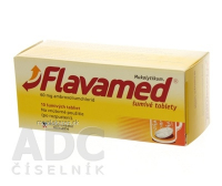 Flavamed 60 mg 10 šumivých tabliet