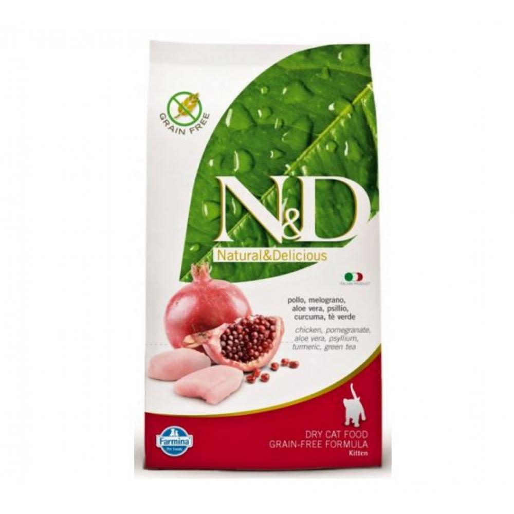 N & D Grain Free Cat KITTEN Chicken & Pomegranate 300 g