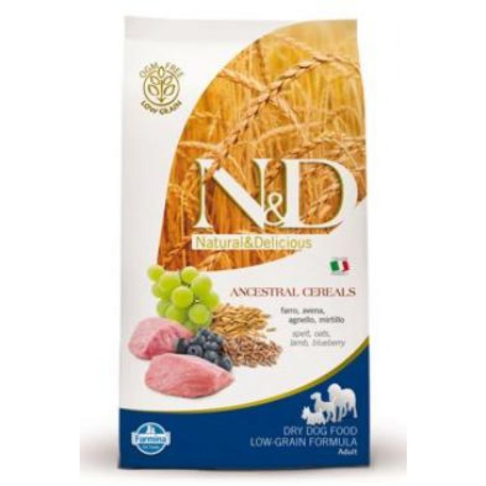 N & D Low Grain DOG Adult Mini Lamb & Blueberry 800g