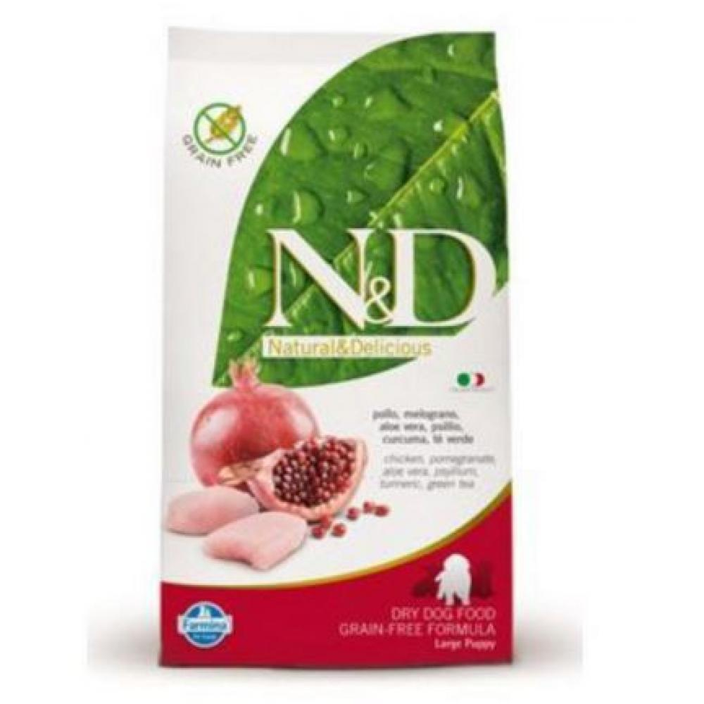 N & D Low Grain DOG Puppy Mini Chicken & Pomegr 800g