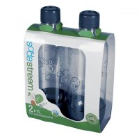 SODASTREAM Fľaša 1l GREY/Duo (Twin) Pack