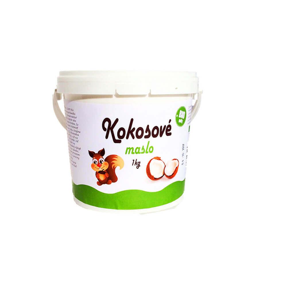 NAJTELO BIO Kokosové maslo (pasta) 1 kg