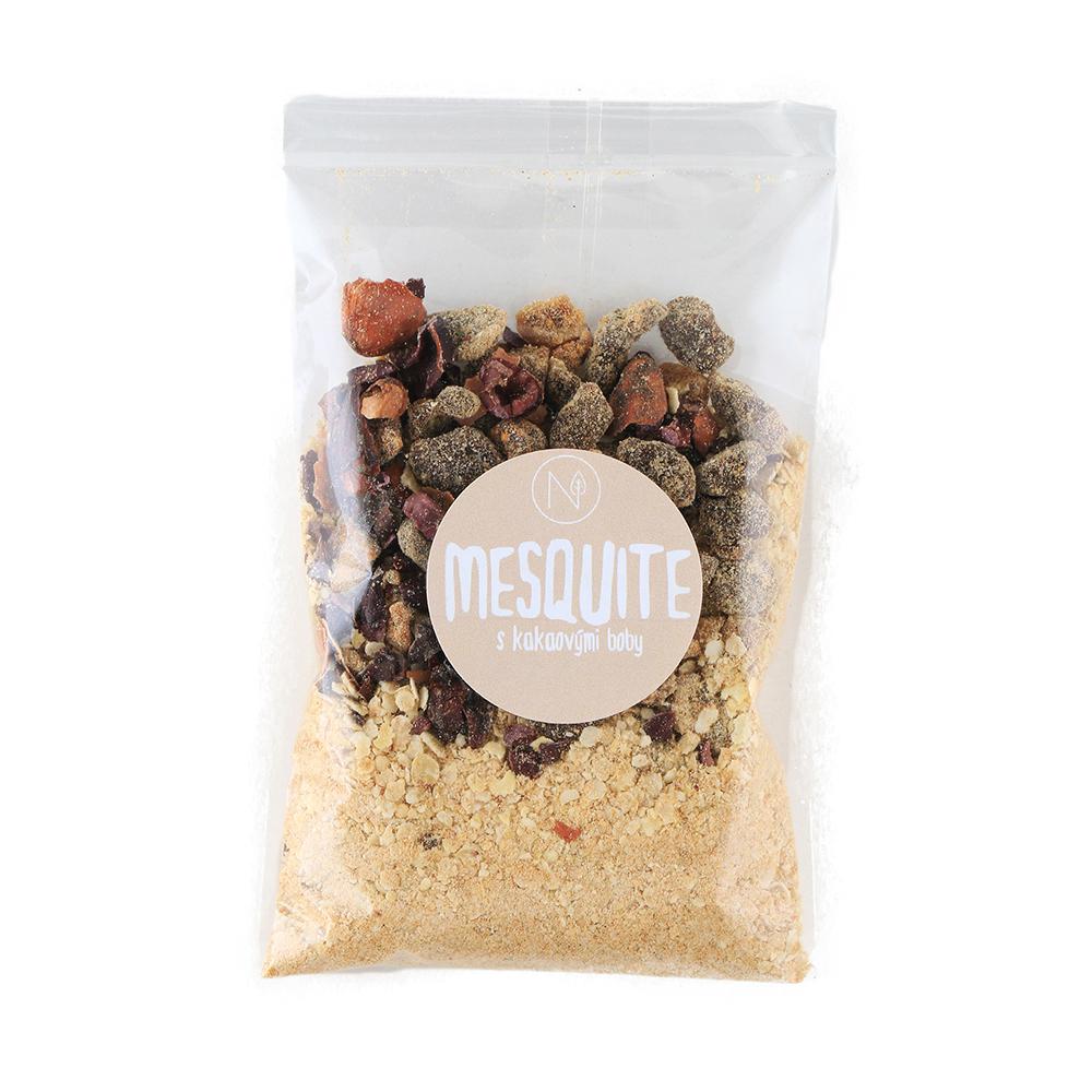 NATU Superkaša MESQUITE s kakaovými bôbmi a figami 70 g