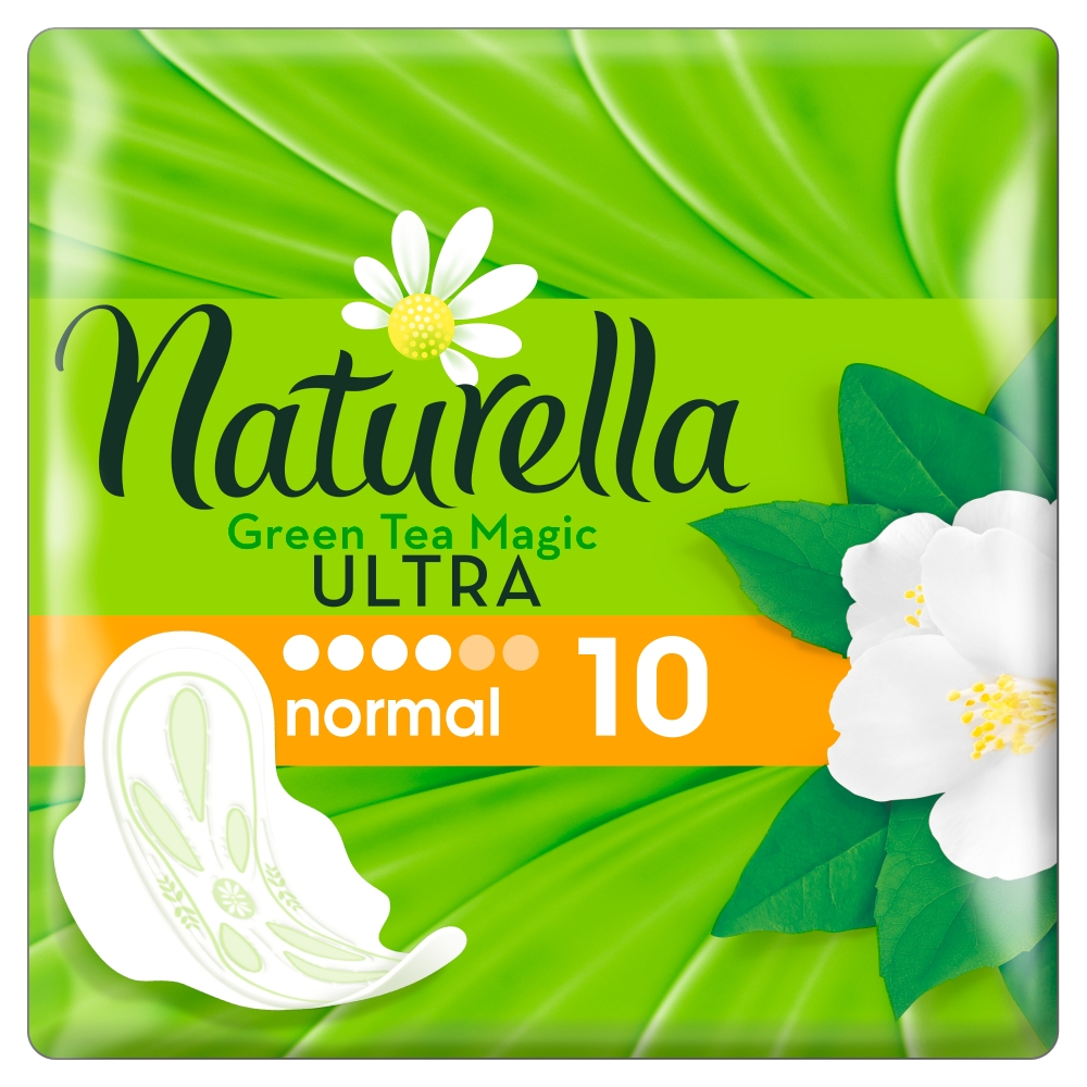 NATURELLA Green tea ultra normal 10 kusov