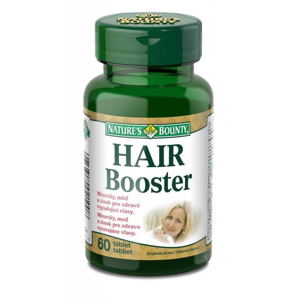 NATURE´S BOUNTY Hair booster - vlasový stimulátor 60 tabliet