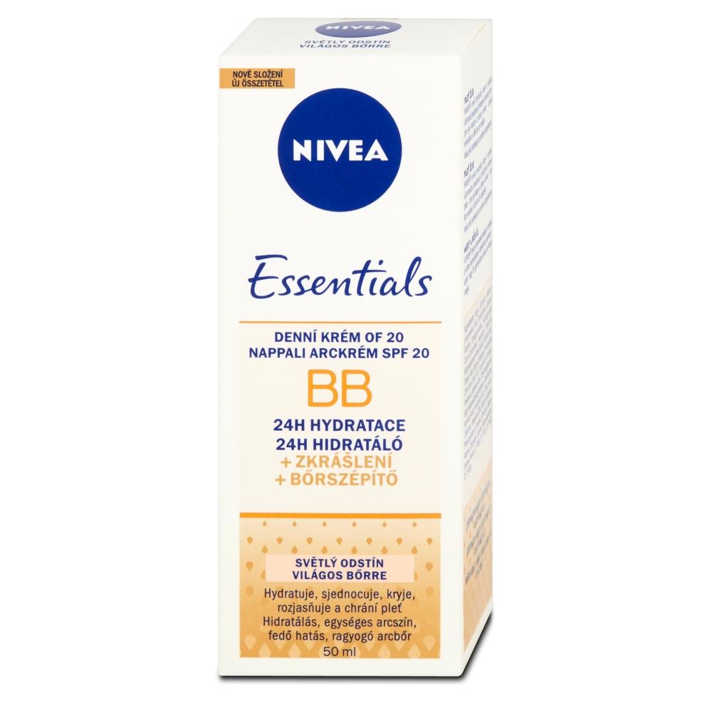 NIVEA BB hydratačný krém 5v1 svetlá pleť