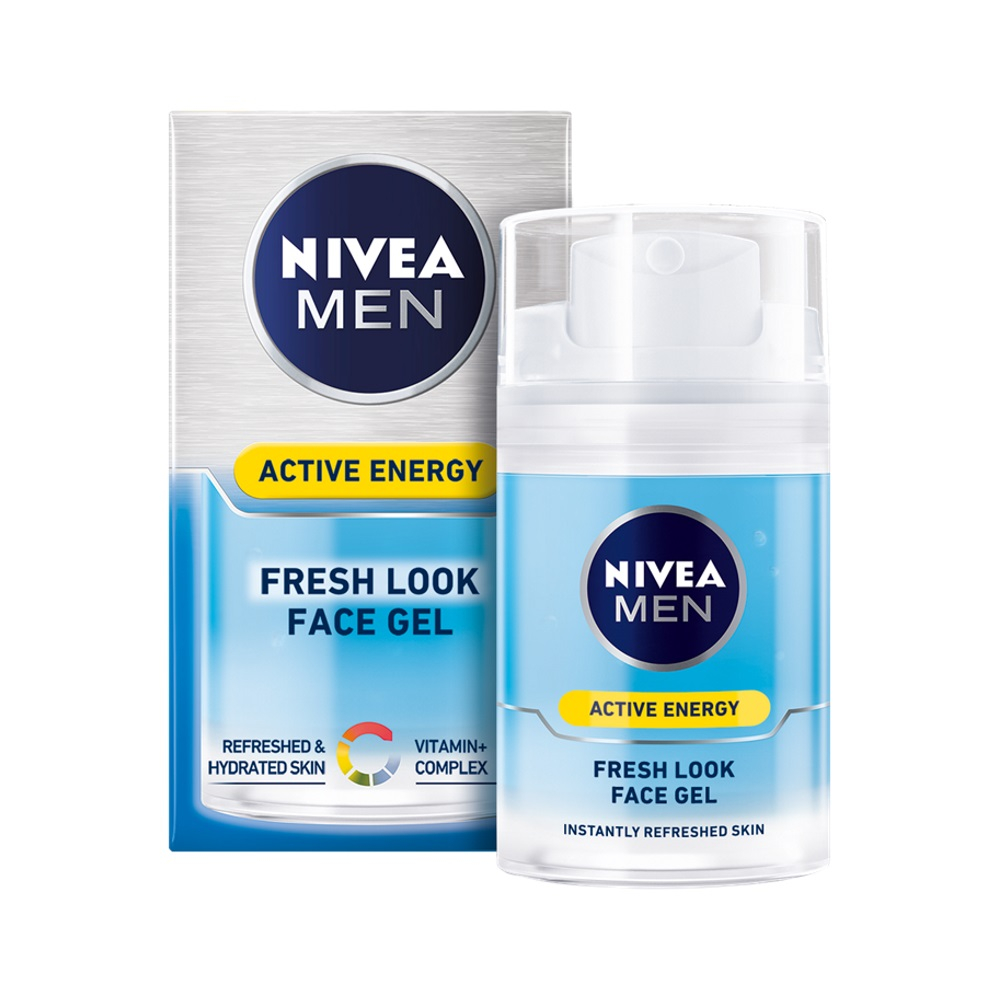 NIVEA MEN energizujúci krém gél Q10 Skin Energy 50 ml