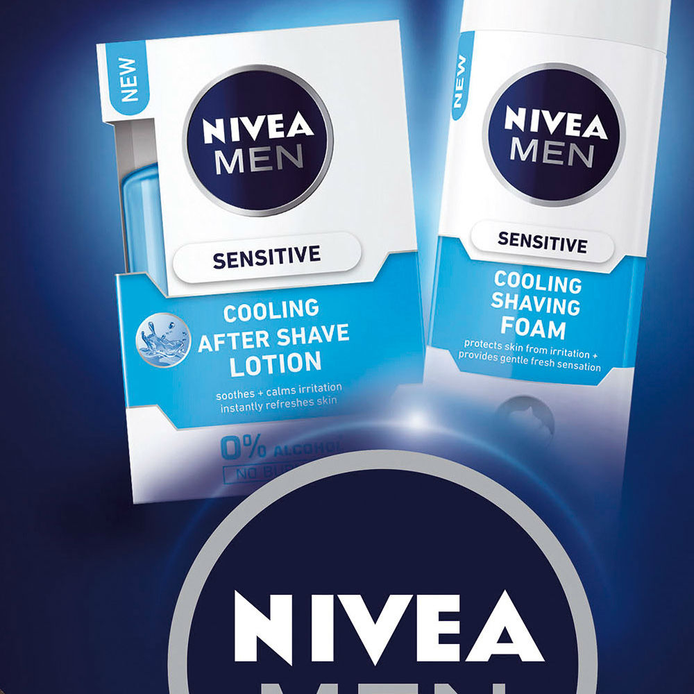 NIVEA MEN Lotion Cooling vianočná kazeta