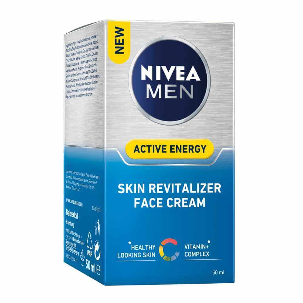 NIVEA MEN pečující krém Skin Energy 50 ml