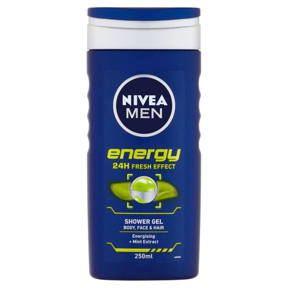 NIVEA MEN sprchový gél Energy 250 ml