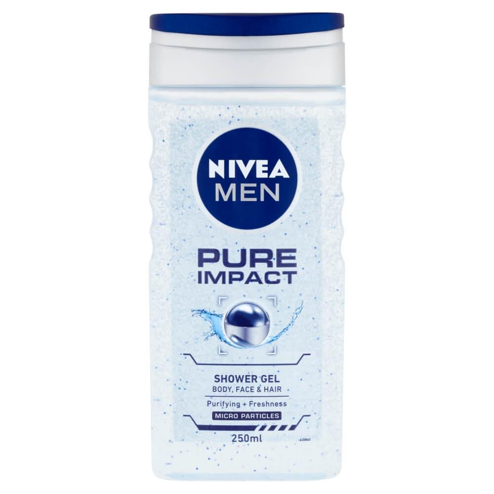 Nivea sprchový gél Pure Impact 250 ml
