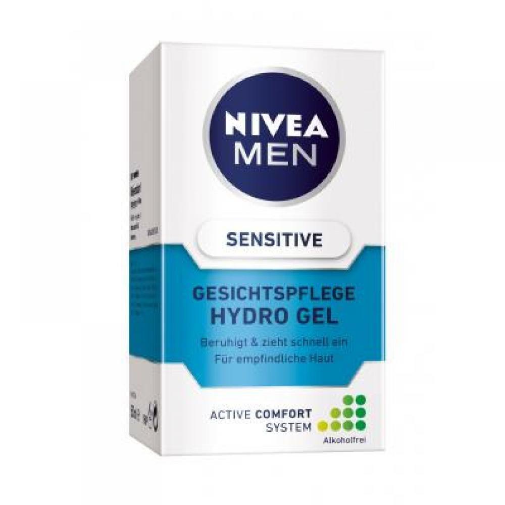 NIVEA MEN gelový krém Sensitive 50 ml