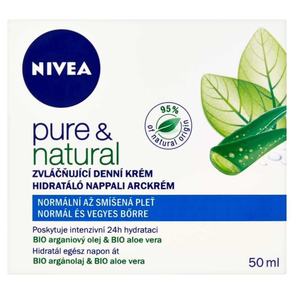 NIVEA Denný krém 50 ml Pure&nat N/ZP