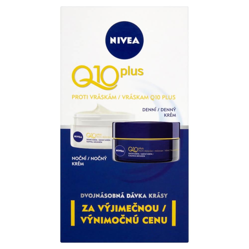 Nivea Q10 duopack denný 50 ml a nočný krém 50 ml