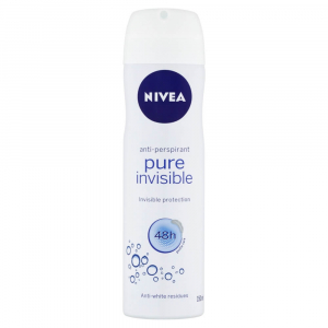 NIVEA Sprej antiperspirant Pure Invisible 150 ml