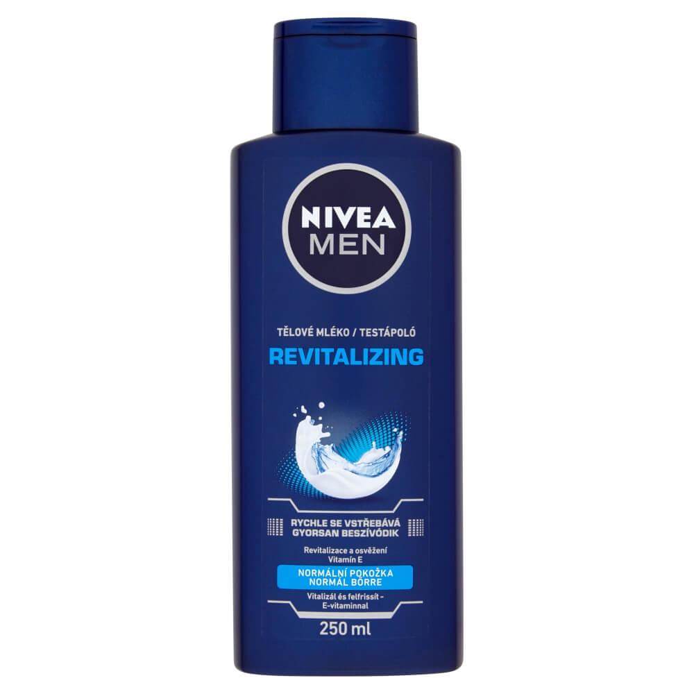 NIVEA telové mlieko pre mužov, 250 ml