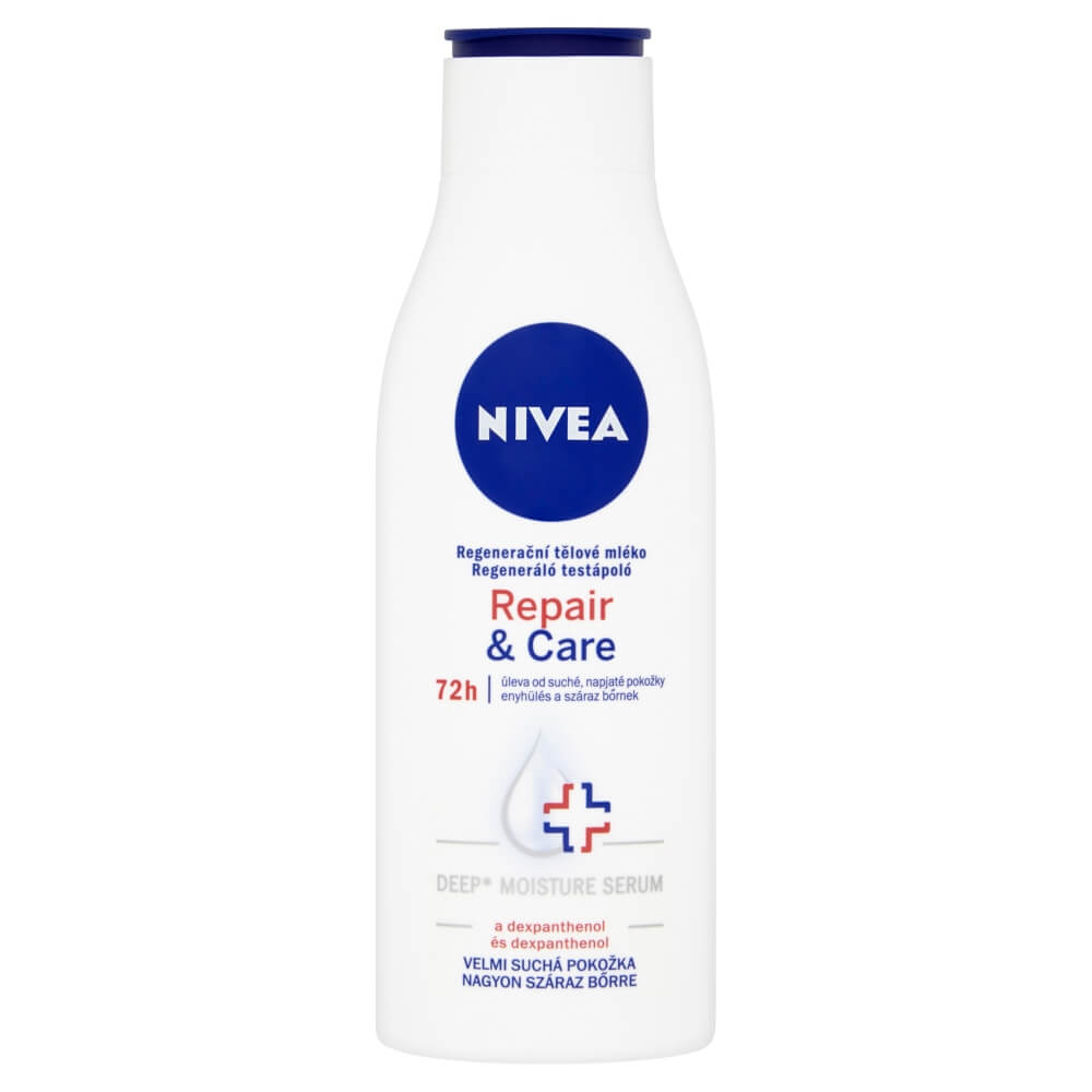 NIVEA Regeneračné telové mlieko Repair & Care 250 ml