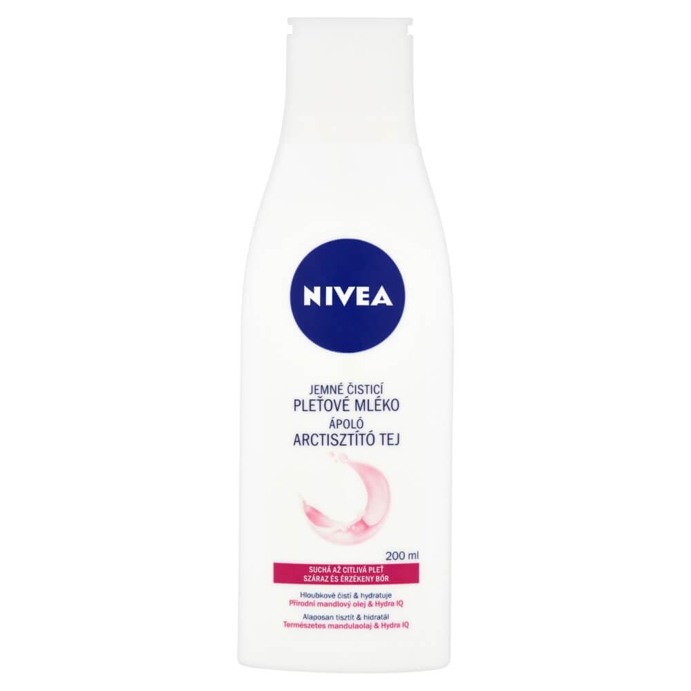 NIVEA Upokojujúce pleťové mlieko pre suchú a citlivú pleť 200 ml