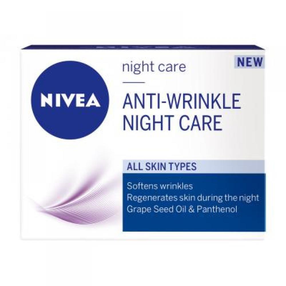 NIVEA Nočný krém 50 ml Hydratačný proti vráskám