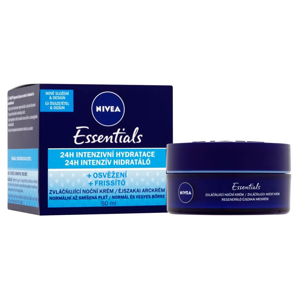 NIVEA Pure & Natual Regeneračný nočný krém 50 ml