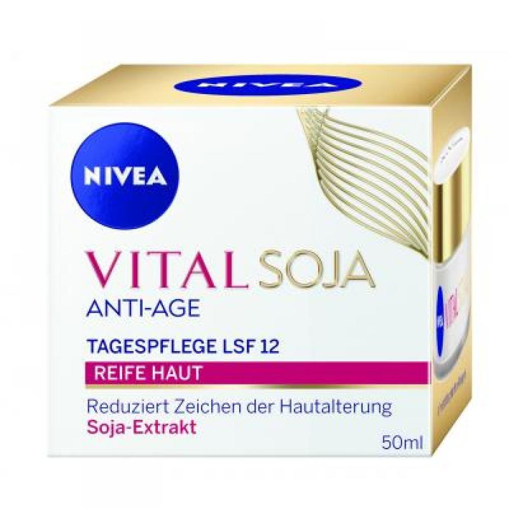 NIVEA VITAL Denný krém proti vráskam Multi Active Sója 50 ml