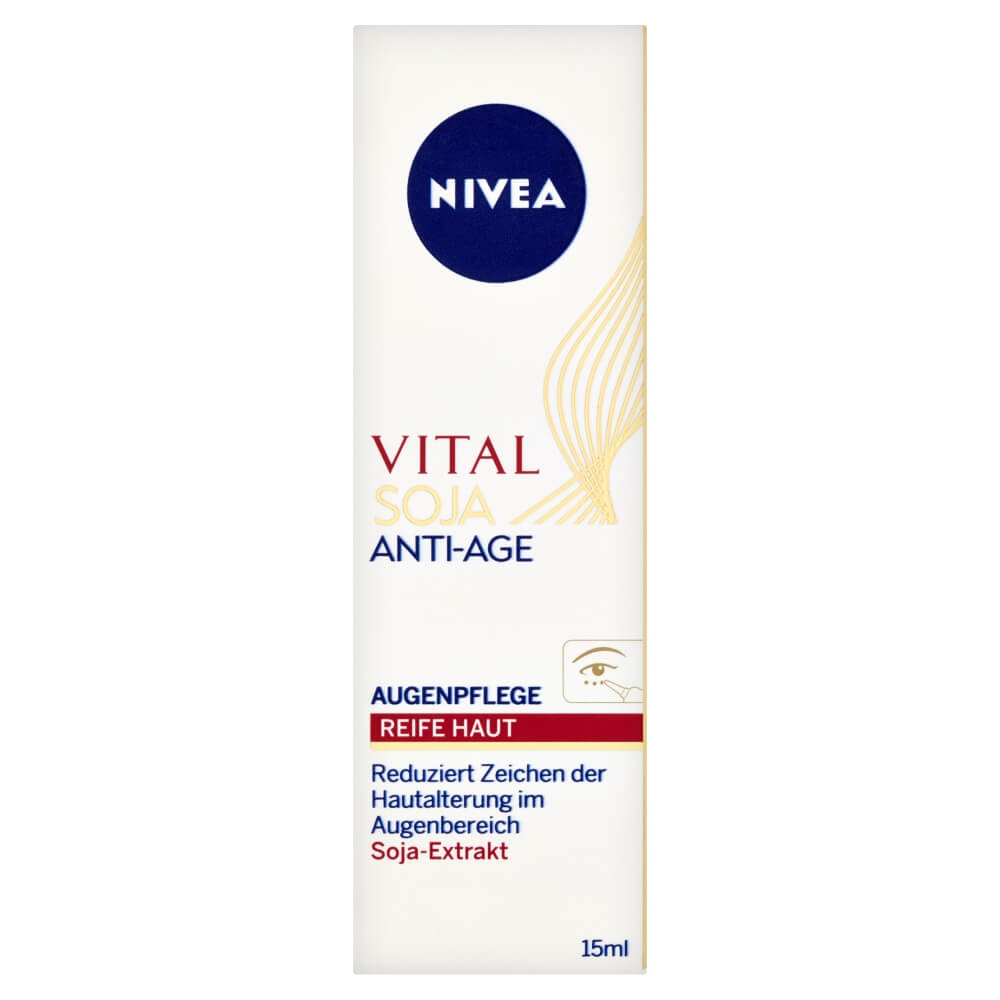 NIVEA VITAL Očný krém proti vráskam Multi Active Sója 15 ml
