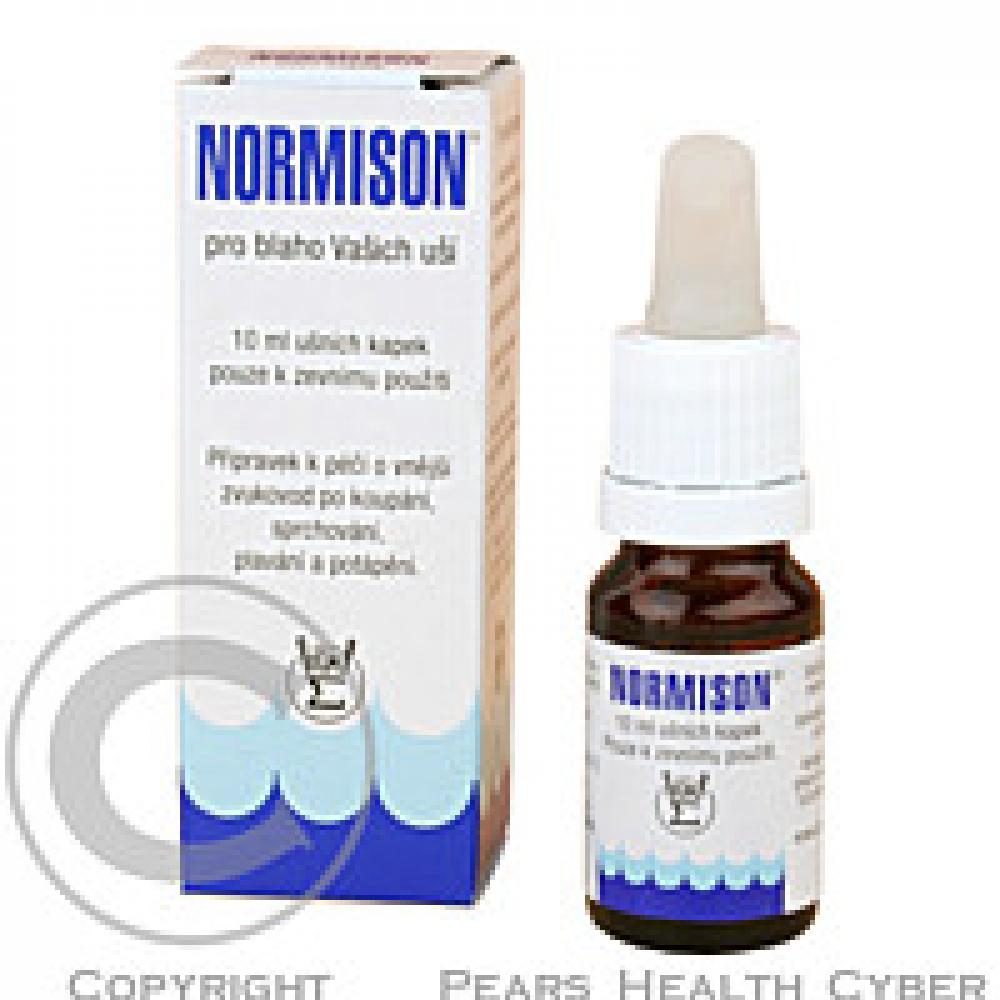 Normison ušné kvapky 10 ml