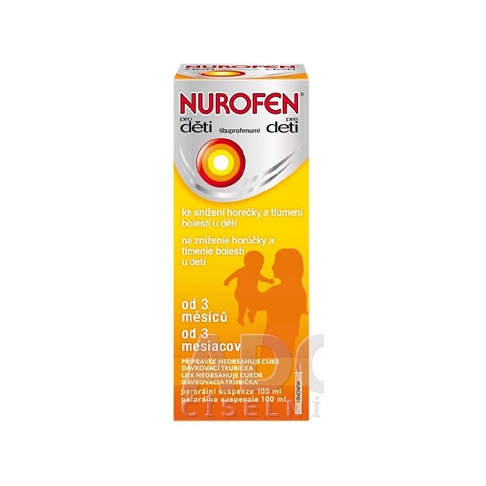 NUROFEN PRE DETI 100 ml