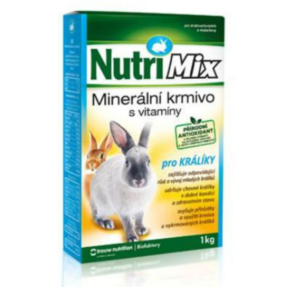 NUTRI MIX pro králíky 1 kg a.u.v.