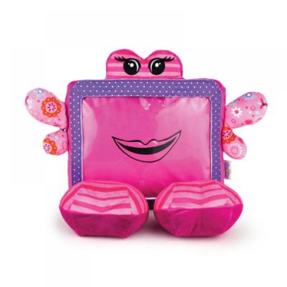 Ochranný a zábavný detský obal / plyšová hračka na tablet G & BL, Flora