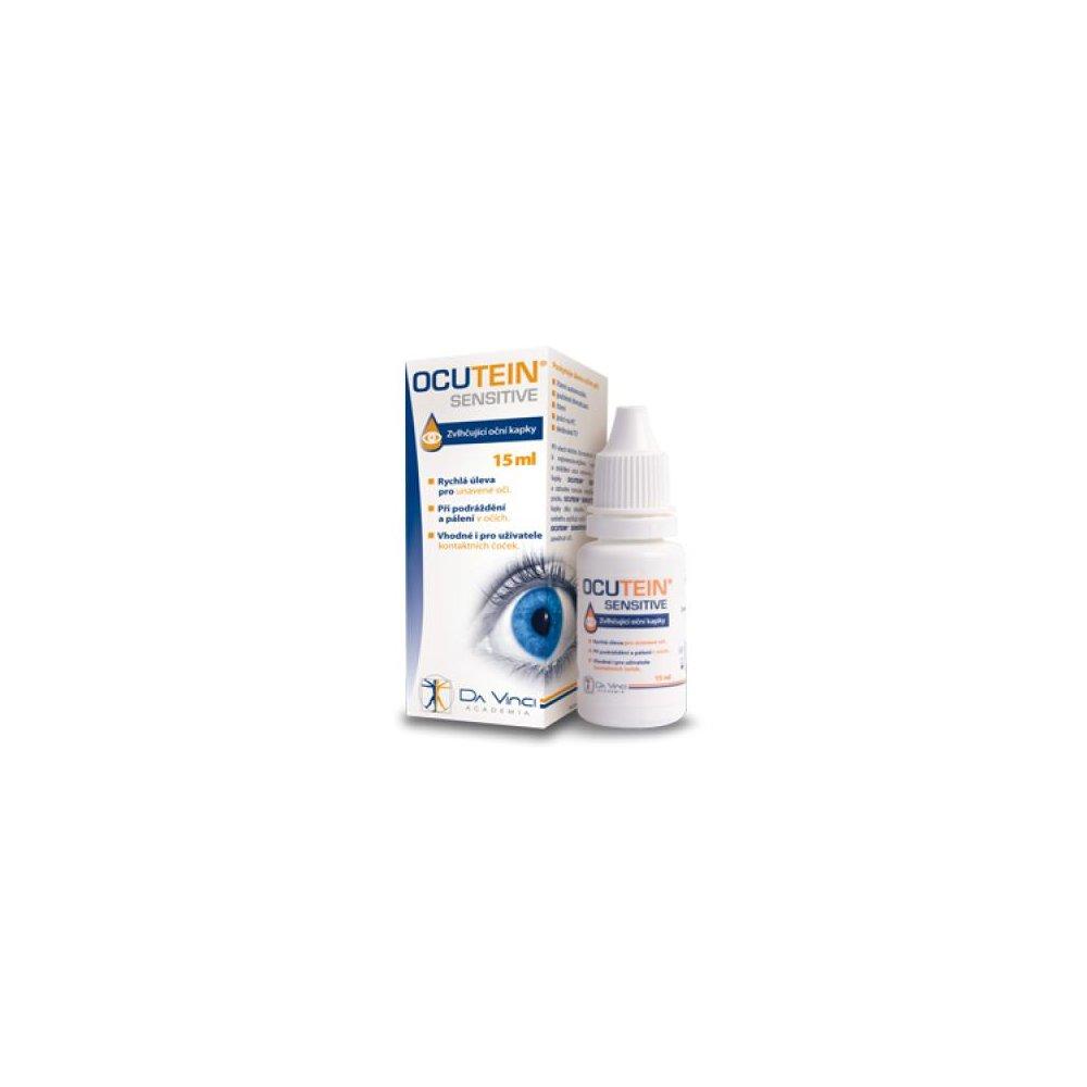 OCUTEIN Sensitive očné kvapky DaVinci Academia 15 ml