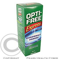 OPTI FREE Express No rub lasting comfort 355 ml