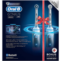 ORAL-B Genius PRO 8900 Cross Action Bonus Handle